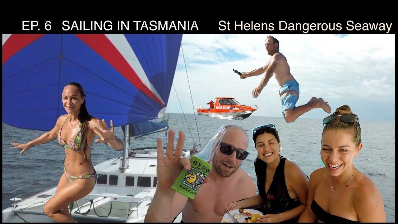 EP 6 SAILING IN TASMANIA - St Helens Treacherous Entry - Самые
