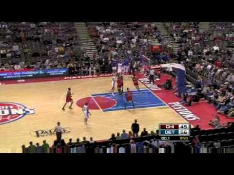 Bulls vs. Pistons