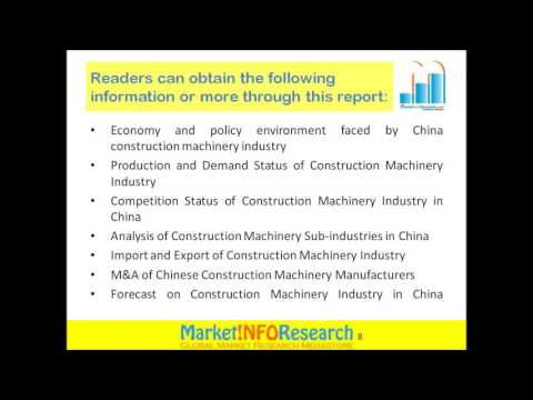 Construction Machinery Industry In China, 2011- 2020