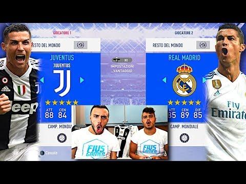 FIUS vs MIRKO su FIFA 19!!! SFIDA A SOLDI TRA FRATELLI *costosa*