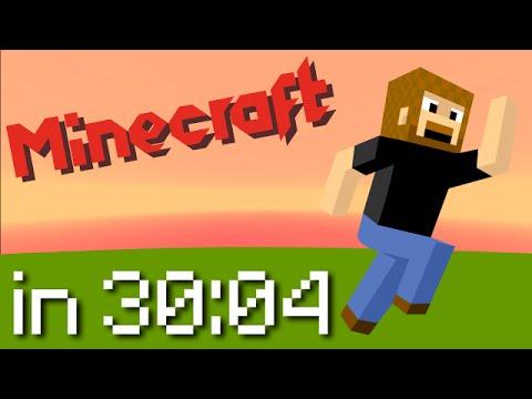Minecraft Speedrun: Any% Random Seed in 30:04
