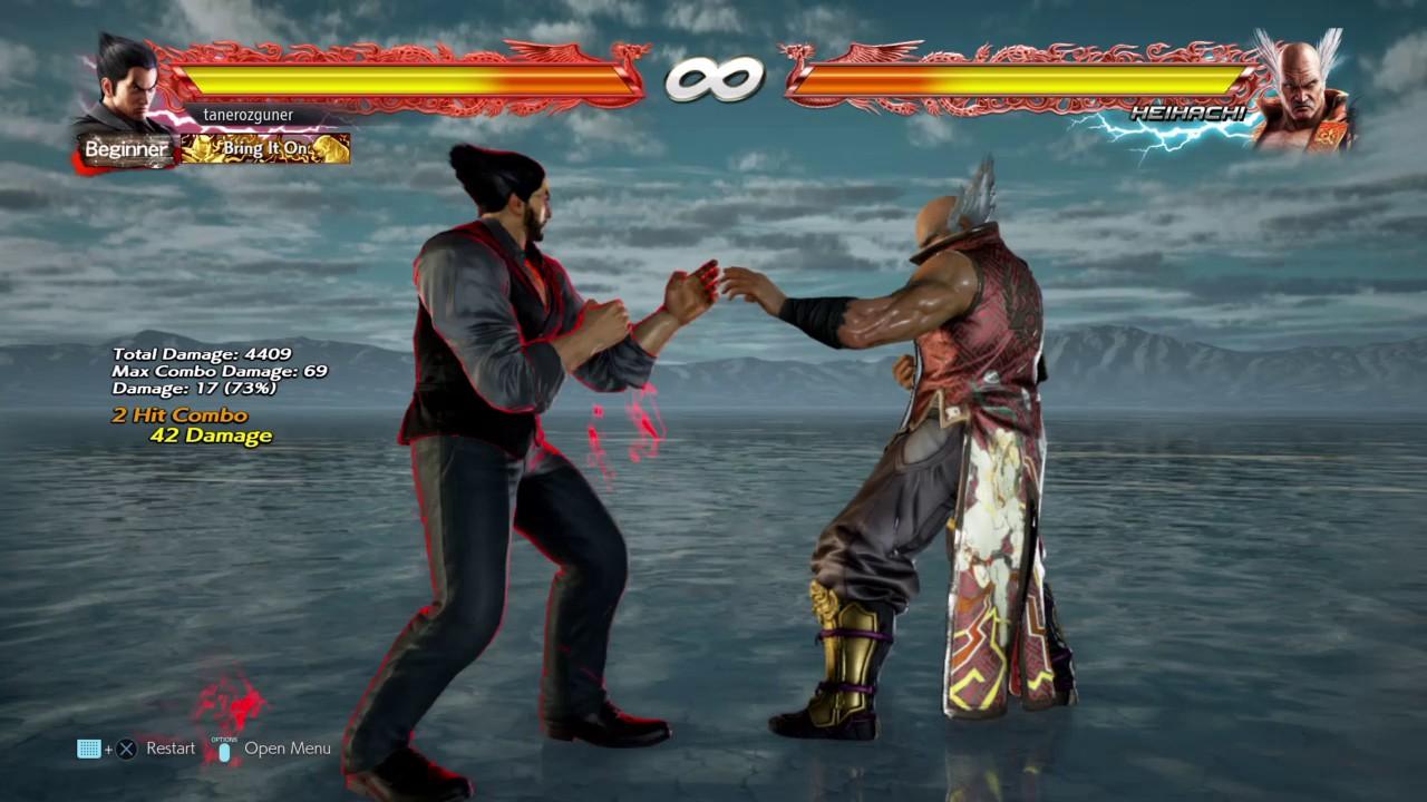 Practicing Ewgf On Pad Kazuya Tekken 7 Youtube