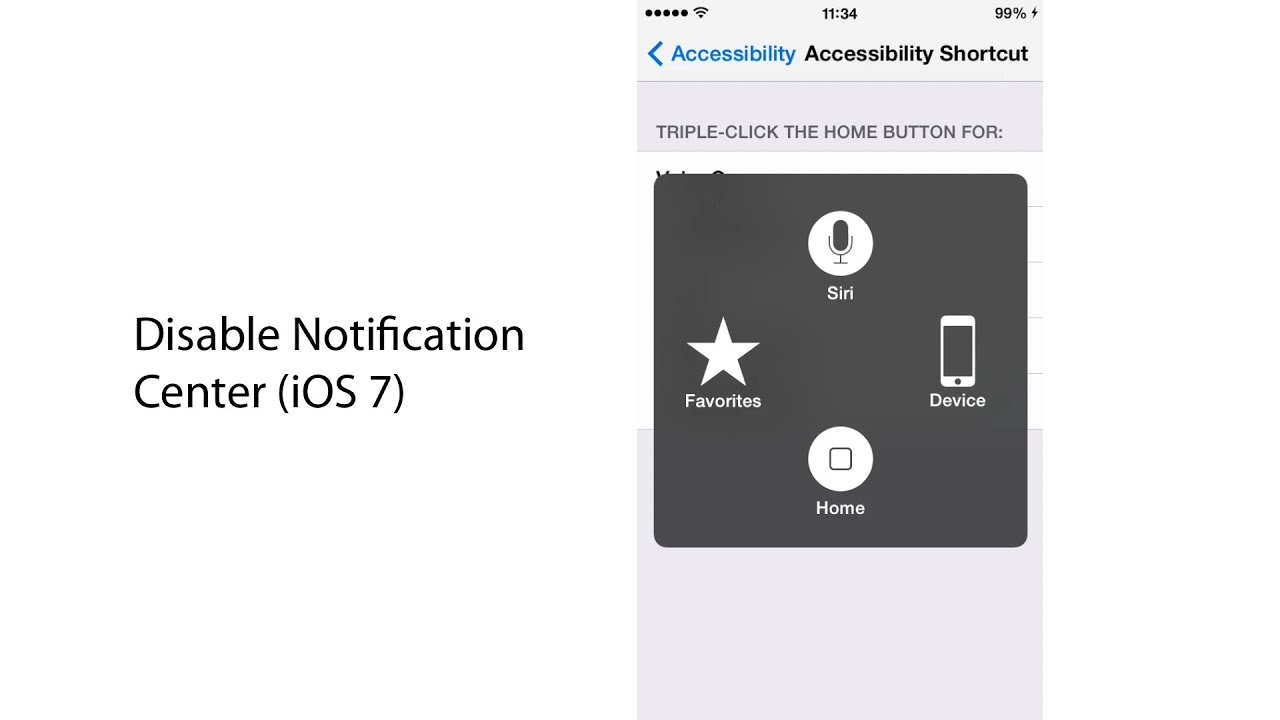 iphone notification center not working disable notification center ios 7 17682