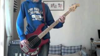 Papa Roach - Between Angels And Insects Bass Cover