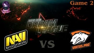 Grand Finals Na'Vi vs Virtus.Pro  #2 (bo5) (Ru) | DreamLeague Season 3 Lan Finals  (15.06.2015)