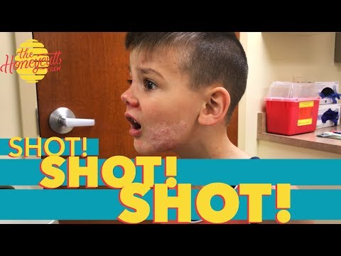 RHODES ROLLED AROUND IN POISON IVY! - The Honeycutt Crew - mini vlog - SHOTS are no fun!