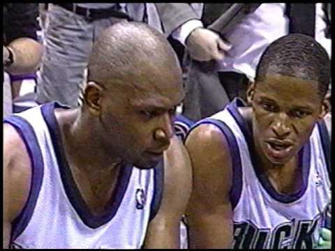 Ray Allen & Glenn Robinson Combine for 57 Points in Game 7 Triumph