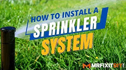 How to Install a Sprinkler System | A DIY Guide
