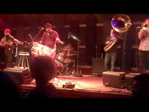"Red Baraat, Perform ""Chaal Baby"" Live At The World Cafe, 3/28, 2013"