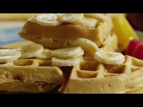 How to Make Banana Waffles   Banana Waffles Recipe   Allrecipes.com