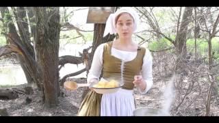 2 Средневековая кухня Англии. Похлебка из репы «Способы приготовления еды» 1390г.