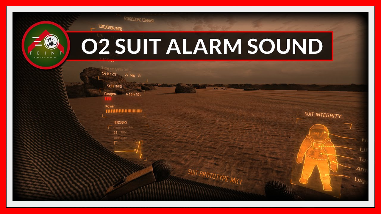 O2 Suit Alarm Sound Replacement - Take On Mars