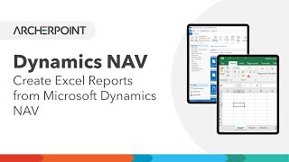Using an Excel Codeunit to create Excel Reports from Microsoft Dynamics NAV