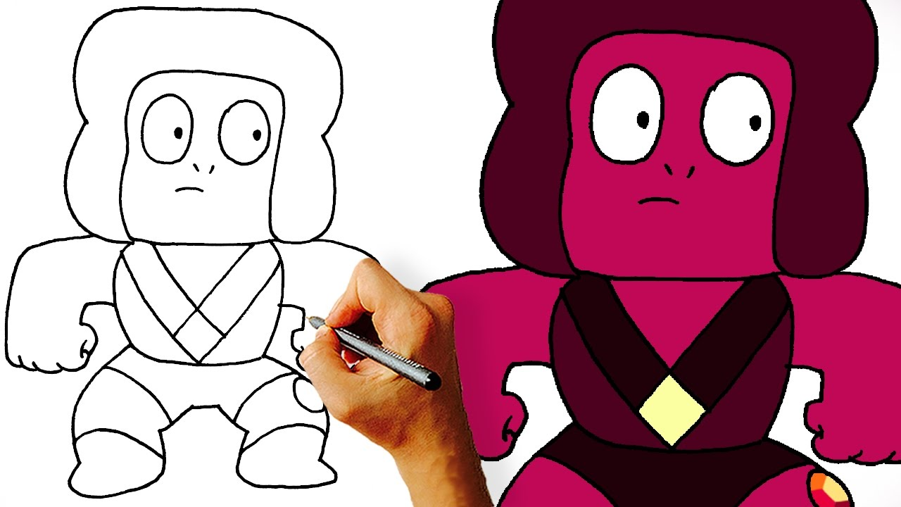 how to draw steven universe characters step by step