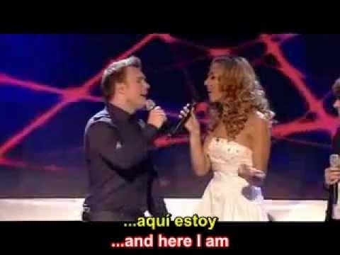 A Million Love Songs - Leona Lewis Ft. Take That - English Lyrics - Subtitulado Español