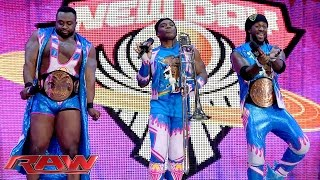 The New Day celebrates an important anniversary: Raw, November 16, 2015