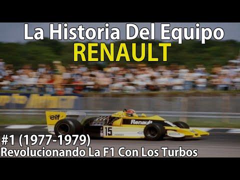 #1 Innovación Francesa Que Marco Una Era (1977-1979)   La Historia Del Equipo Renault