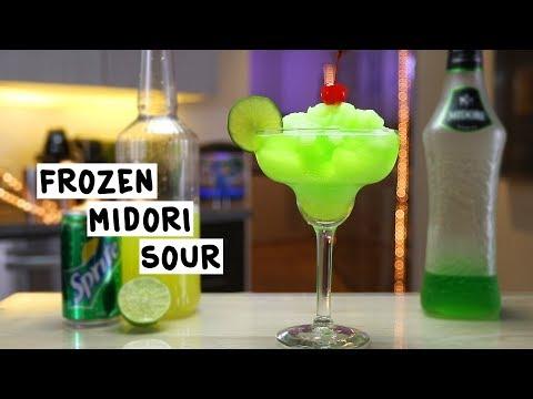 Frozen Midori Sour