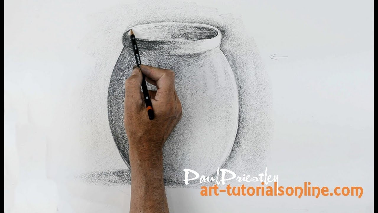 Start Drawing: Part 6  Draw A Simple Pot