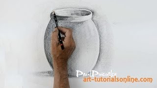 Start Drawing: PART 6 - Draw a simple pot