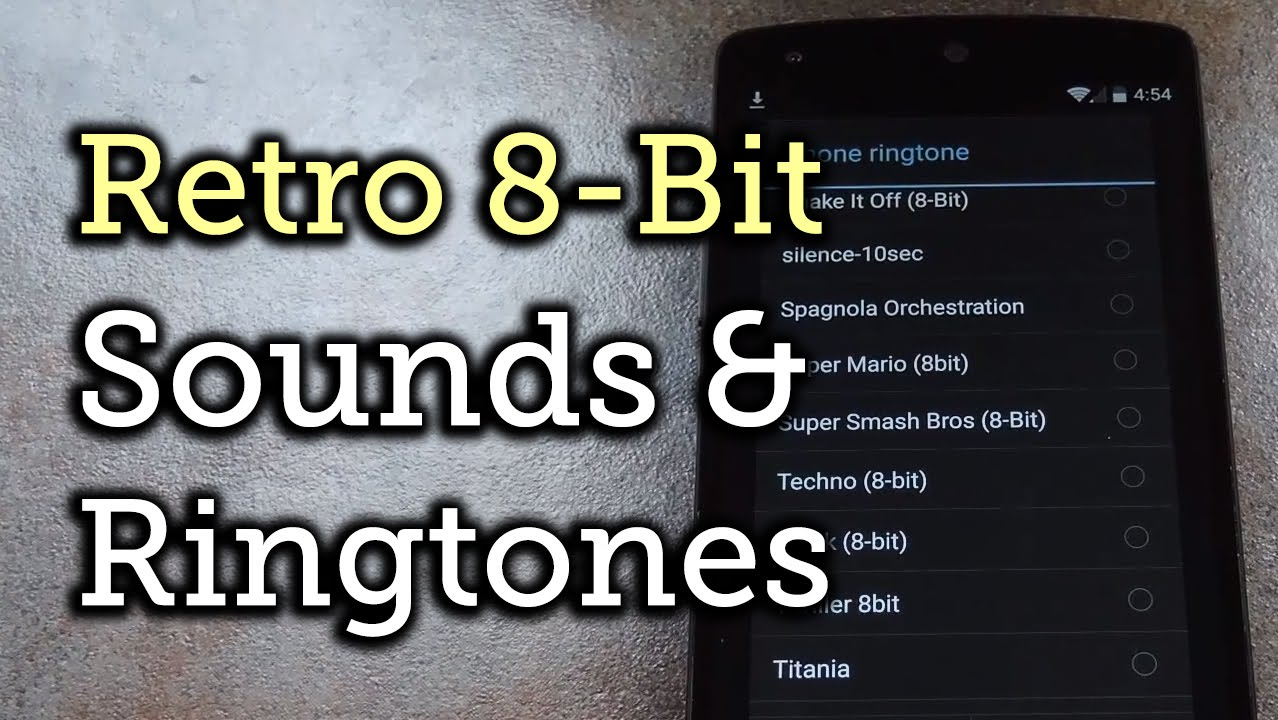 Glorious 8-Bit Video Game Sounds & Ringtones Are Here for