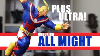 ALL MIGHT is HUGE! Unboxing of Banpresto - The Amazing Heroes Vol. 5, ALL MIGHT!