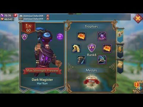 Lords Mobile : Buying Dark Magister In SGK - Thanks Sugarkane