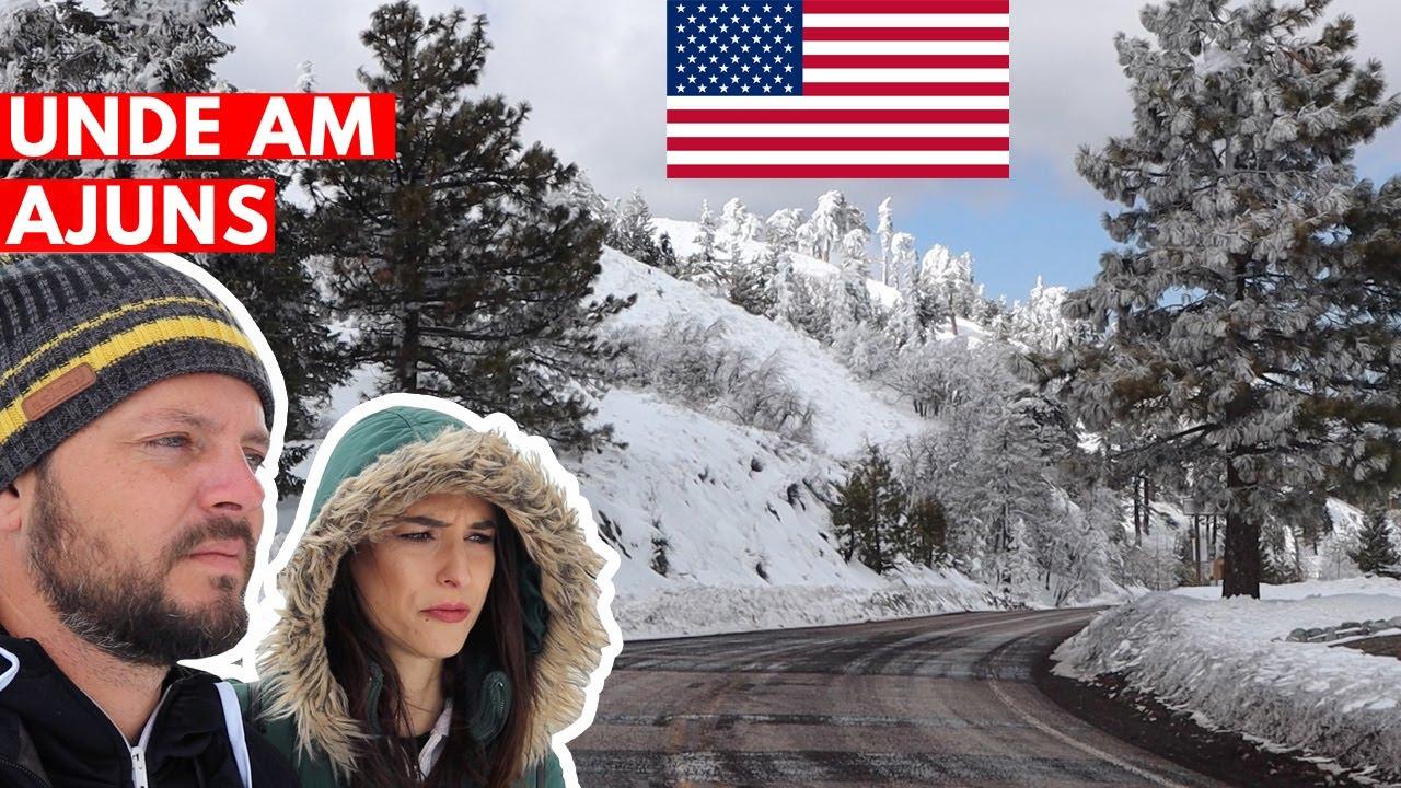 Am ieșit din autoizolare. Zăpadă și grade cu minus în SUA + surpriză
