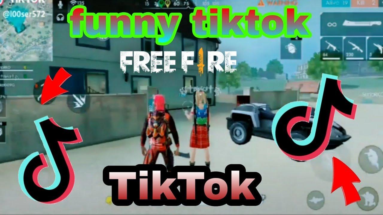 Free Fire Funny Tiktok Videos Garena Free Fire Youtube