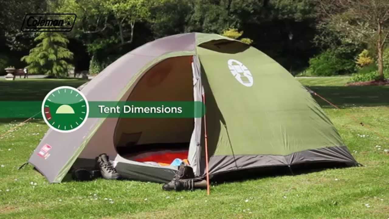 & Coleman® Darwin 2 - Two person backpacking tent - YouTube