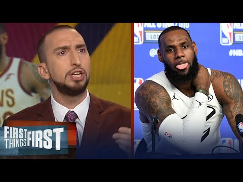 Nick Wright reacts to LeBron's comments on Adam Silver changing playoff format | FIRST THINGS FIRST