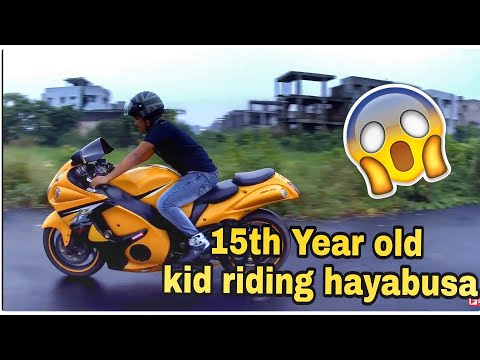 15-year-old-kid-riding-hayabusa-|-youngest-hayabusa-rider-|-his-dream-came-true-😍