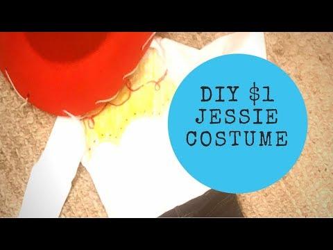 DIY JESSIE TOY STORY COSTUME | $1 Dollar Tree Jessie Costume 2018