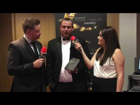 Pride of Wales 2016: Backstage with Rhys Foran - Fundraiser of the Year with Bowden Jones Solicitors