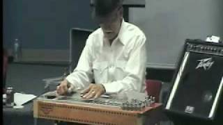Jody Sanders Playing City Lights S.E. Texas Steel Guitar Meeting 10/4/2009