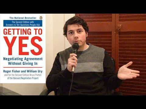 Getting To Yes: Negotiating Agreement Without Giving In - Book Report Mp3