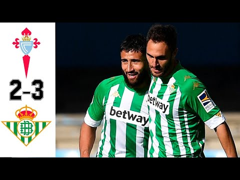 Celta vs Betis 2-3 All Goals & Highlights 22/05/2021 HD