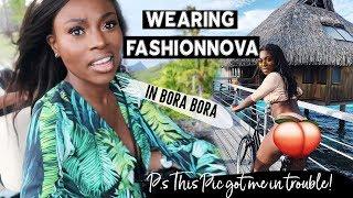 WEARING FASHIONOVA & GETTING ROBBED STAYING IN KIM KARDASHIANS VILLA IN BORA BORA!? ISSA VLOG!