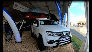 VOLKSWAGEN VW AMAROK NEW MODEL BY ROAD RANGER CAMPER CONCEPTS WALKAROUND WHITE + BLUE COLOUR
