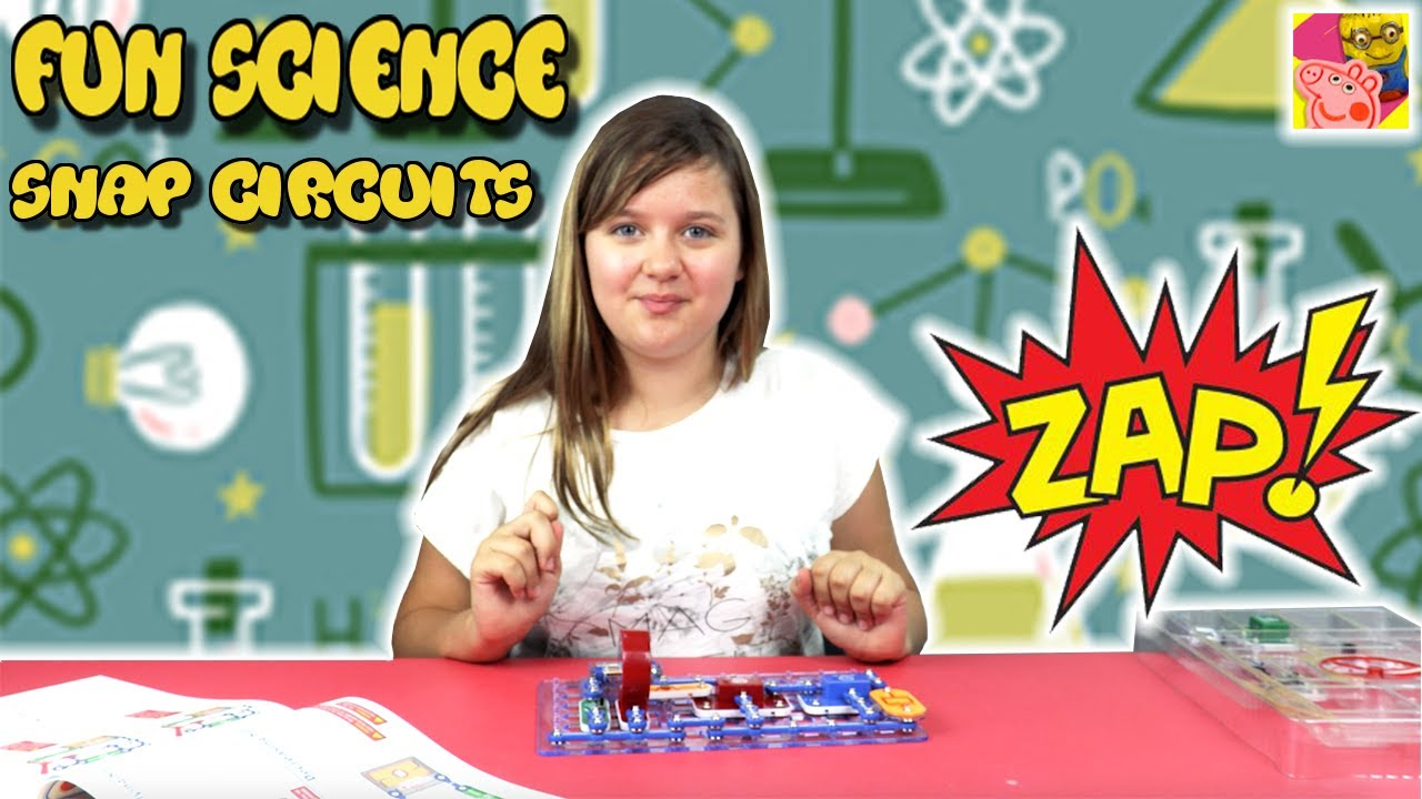 Learn How To Make Electronics With The Snap Circuit Junior Home Products Science Kits Circuits Green Fun For Kids Crafty