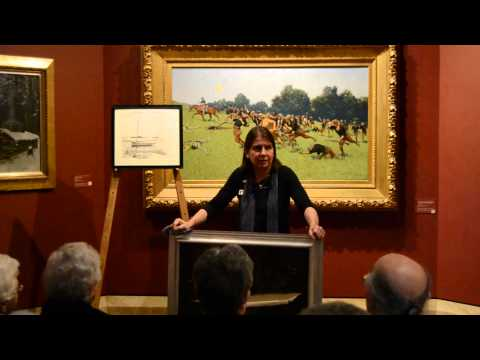 "Director Laura Foster discusses a ""new"" loaned Remington painting and a recent acquisition."