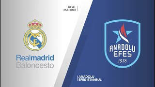 #EuroLeague 21. Hafta: Real Madrid - Anadolu Efes