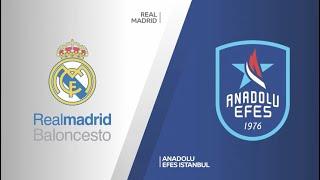 #EuroLeague 21. Hafta: Real Madrid - Anadolu Efes