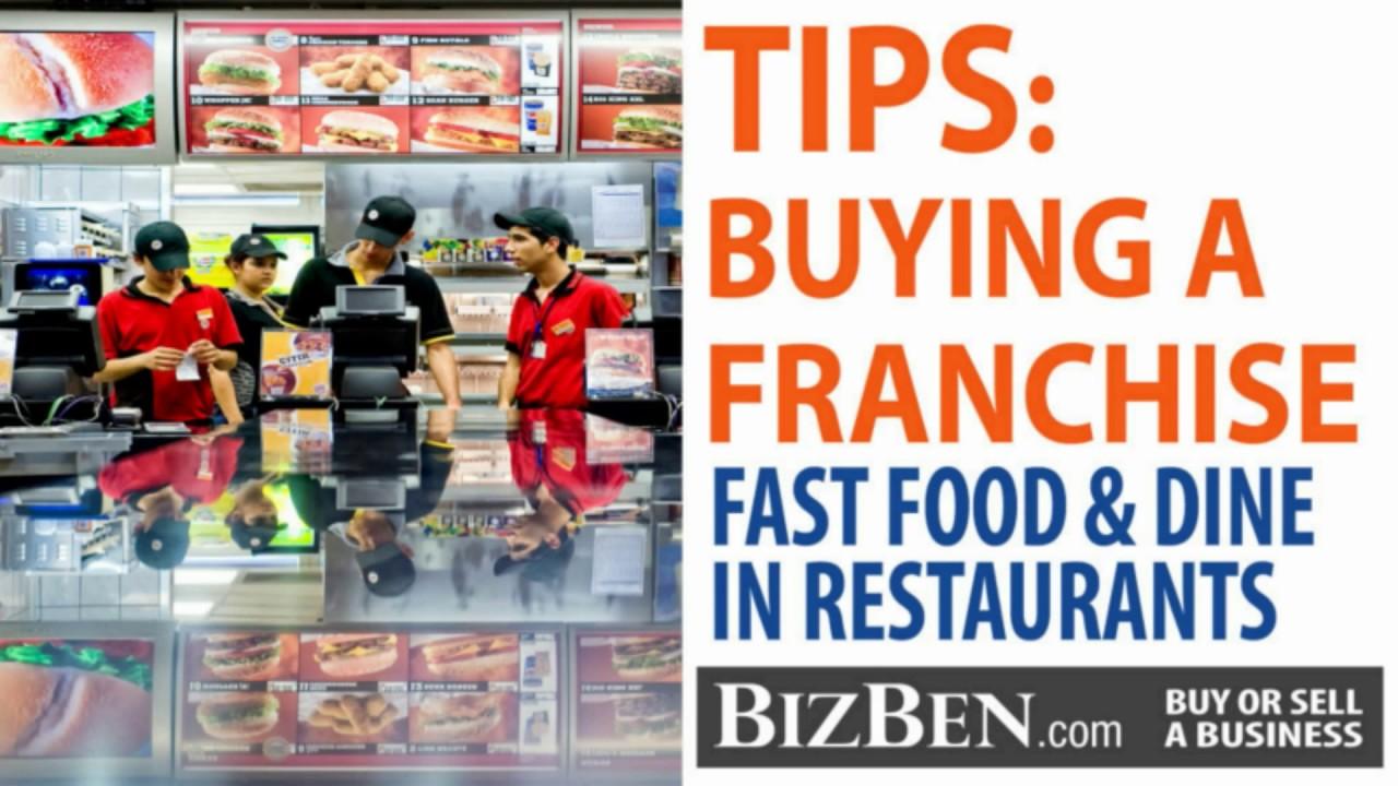 Tips On Buying A Restaurant Franchise Bizben