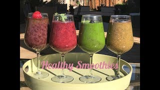 Healthy Smoothies by Suganthi