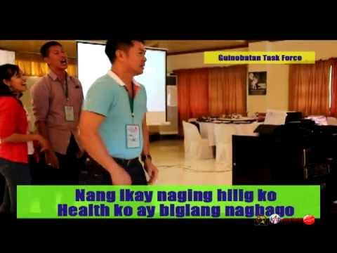 Smoke-Free Guinobatan Taskforce jingle (Pusong Bato tune)