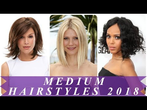 Amazing medium hairstyles for women 2018