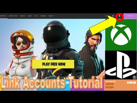 How to Link your Xbox Live/PSN Account to Epic Games [A ...
