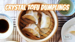 CRYSTAL TOFU DUMPLINGS (Vegan Har Gow Recipe) | Mary