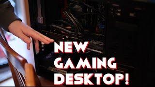 my new gaming desktop sick amd graphics card